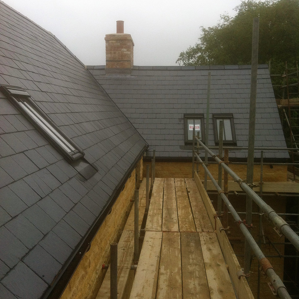 Wychwood Roofing Blue Slate West Oxfordshire