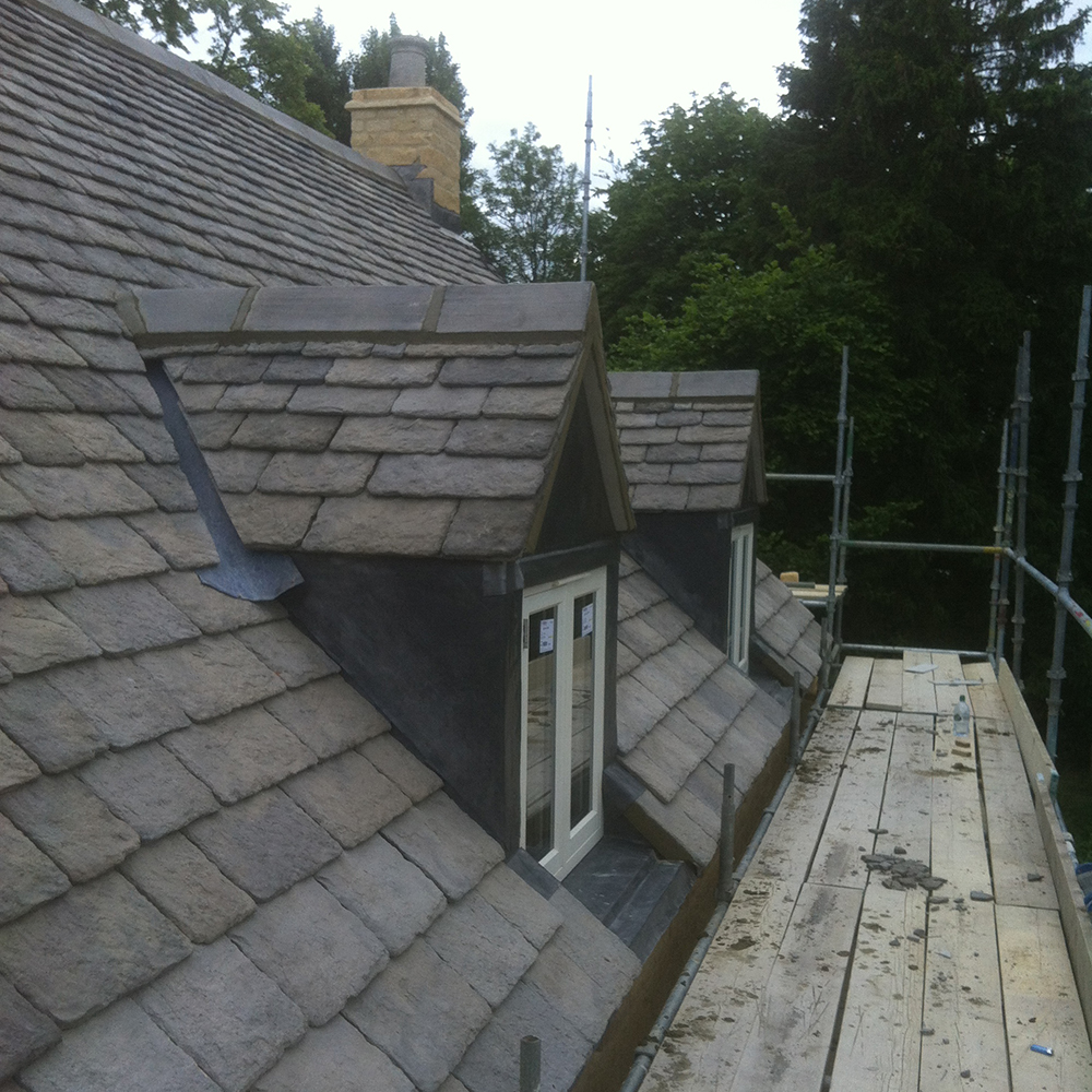 Wychwood Roofing Reconstituted Stone Roofing West Oxfordshire